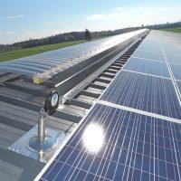 Ligne de vie horizontale ALTILIGNE - Panneaux photovoltaïques