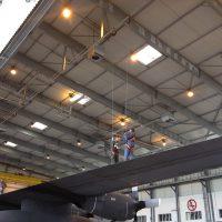 ALTIRAIL position plafond et utilisable en suspension