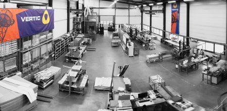 zone de production VERTIC