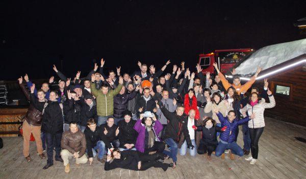 L'équipe VERTIC lors du rassemblement de Janvier 2016